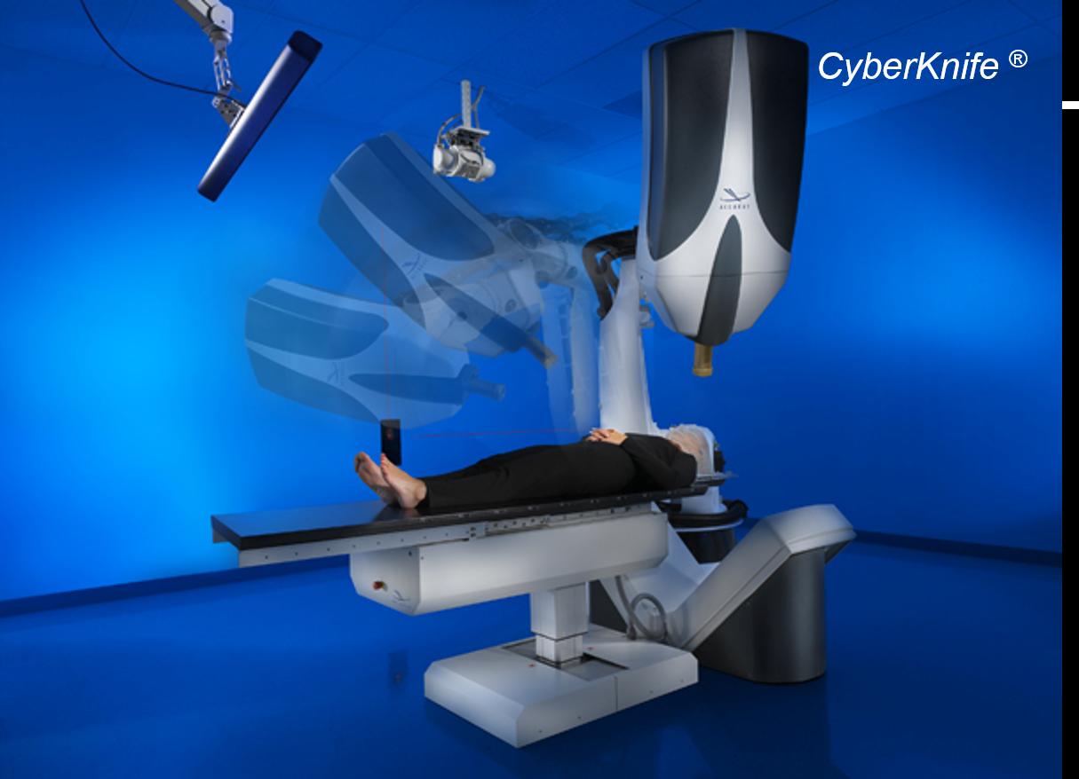 CyberKnife, ein neues Geschäftsmodell