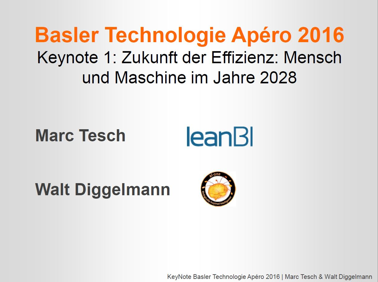 Vortrag: Mensch und Maschine im Jahr 2028