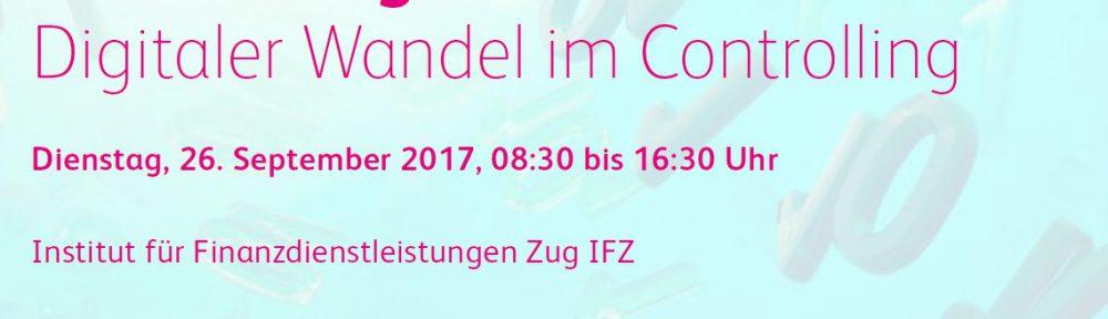 Controlling Konferenz 2017 – Digitaler Wandel im Controlling