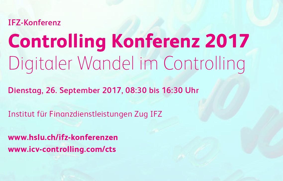 Übersicht Controlling Konferenz 2017