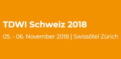 TDWI Schweiz 2018 – Von Small Data, Data Vaults und Cloud DWHs – Ein kurzer Rückblick