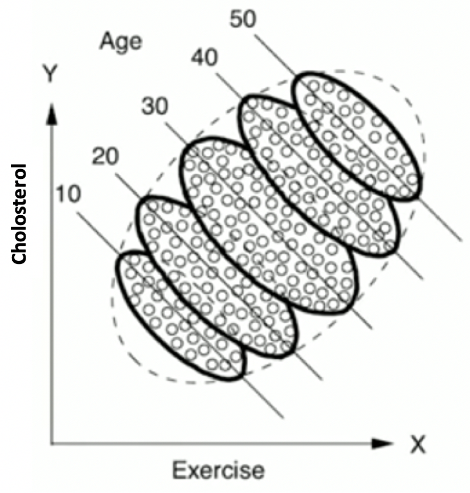 Einbezug des Alterseinflusses auf den Cholesterinspiegel nach [1]